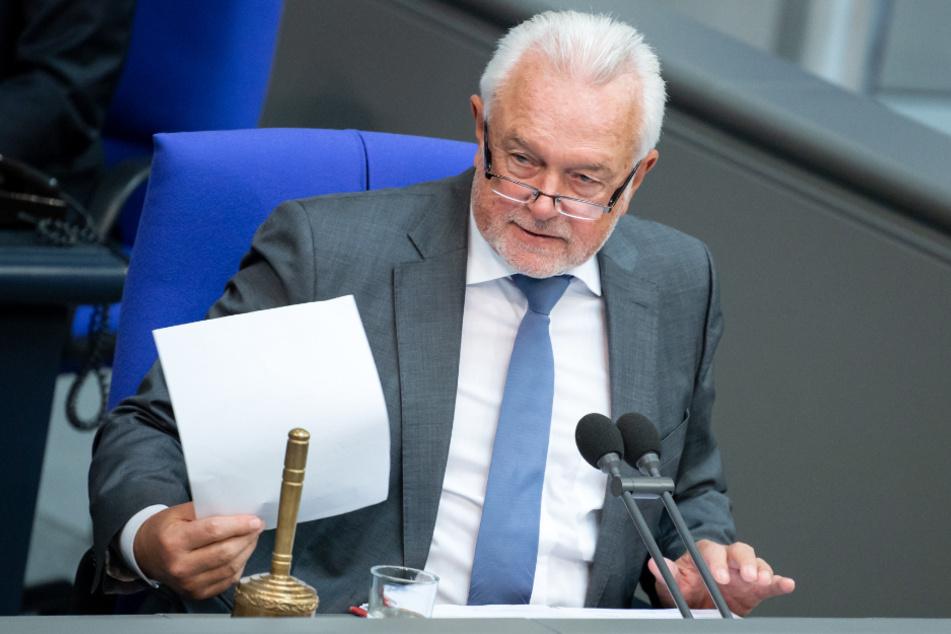 Wolfgang Kubicki (FDP), stellvertretender Bundestagspräsident, hat deutliche Worte an die AfD-Fraktion gerichtet.