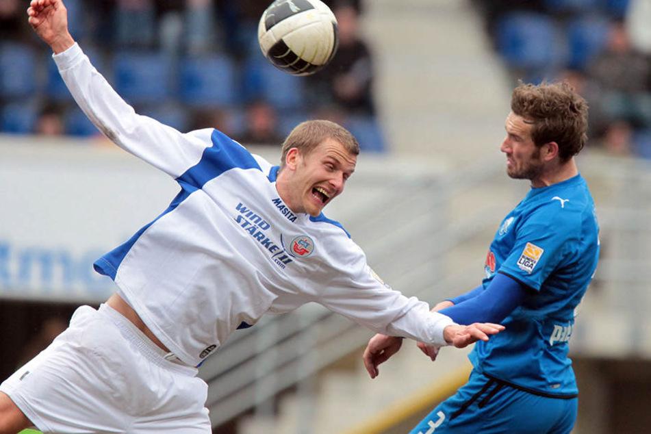 Bis 2010 spielte Matthias Holst (rechts) beim SC Paderborn.