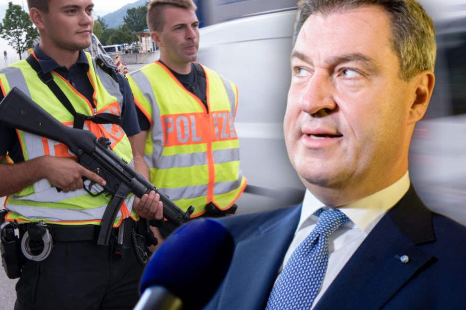 Mehr Sicherheit? Neue bayerische Grenzpolizei nimmt Arbeit auf