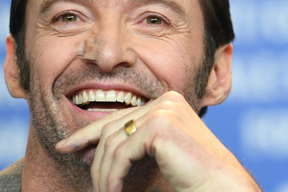 """67. Internationale Filmfestspiele in Berlin: Hugh Jackman am 17. Februar 2017 bei der Pressekonferenz zu """"Logan""""."""