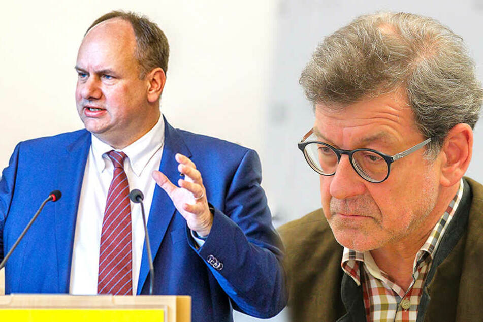 OB Hilbert lobt Amtsleiter Koettnitz vom Hof