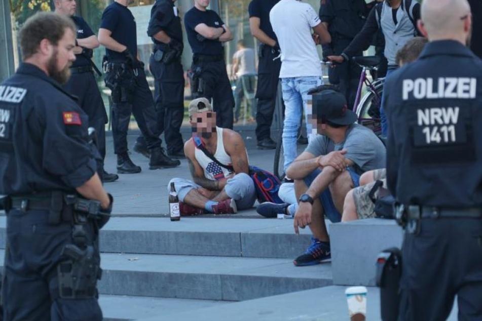 Auf dem Kesselbrink halten vor allem Drogendelikte die Polizei und das Ordnungsamt in Atem.