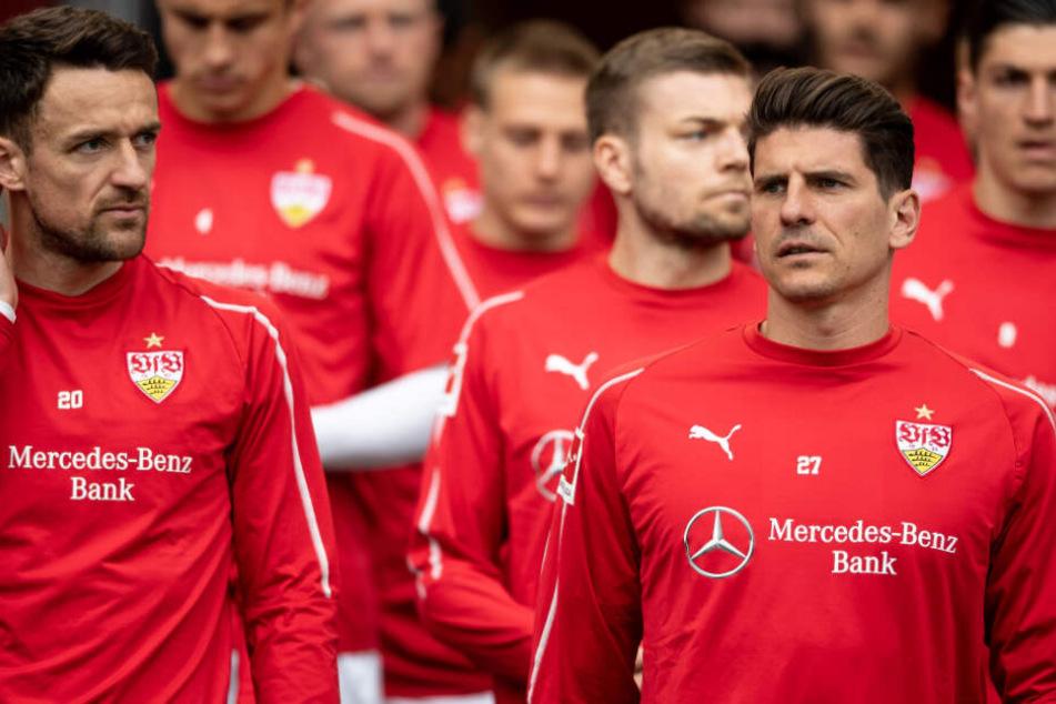 Müssen im Abstiegskampf unbedingt Punkte liefern: Die Profis des VfB Stuttgart.
