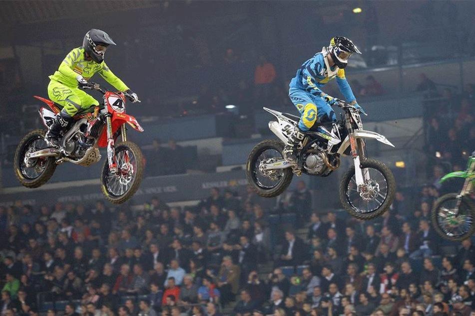 Hohe Sprünge: Rund 10.000 Besucher werden Freitag und Samstag beim 15. ADAC-Supercross erwartet.
