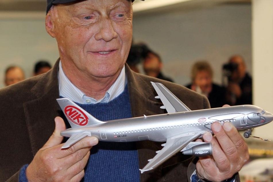 Der ehemalige Formel-1-Weltmeister Niki Lauda ist Namenspate für die österreichische Fluggesellschaft Niki.