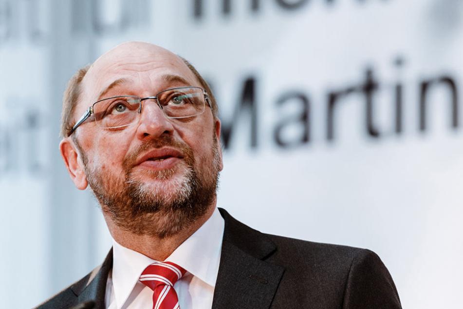 Immer wieder Gegenwind für SPD-Chef Martin Schulz (62) aus den eigenen Reihen.