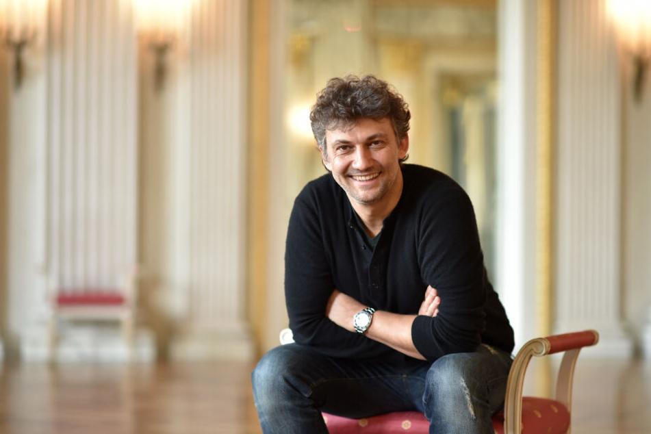Der Opernsänger Jonas Kaufmann sitzt in der Bayerischen Staatsoper, er feiert am 10.Juli 50.Geburtstag.