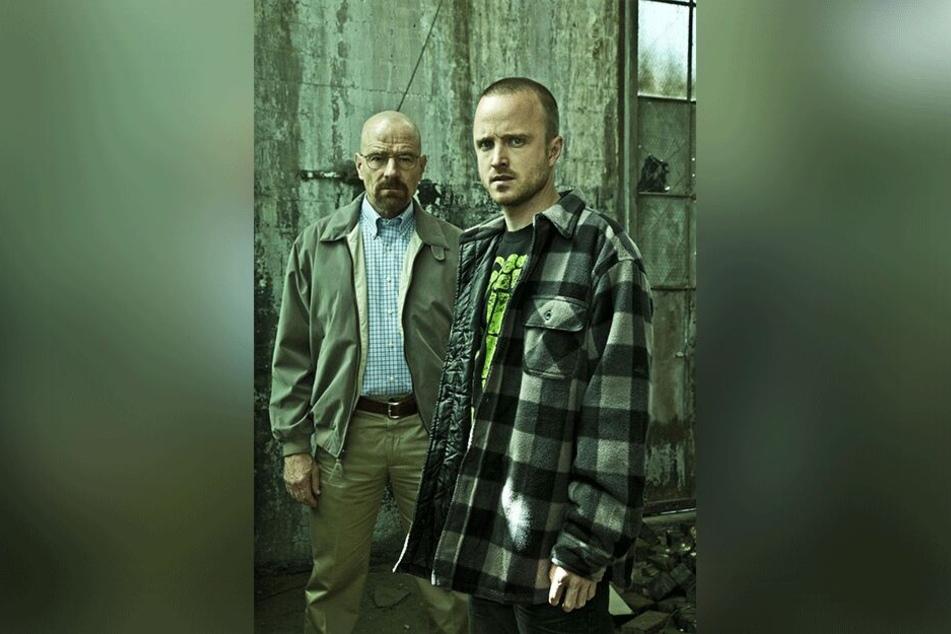 """""""Breaking Bad"""" spielte sich unter anderem durch sein sehr gegensätzliches Helden-Duo in die Herzen der Fans."""