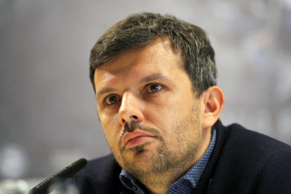 Manager Samir Arabi ist enttäuscht, dass Julian Börner seine Zusage für einen weiteren Vertrag zurückzog.