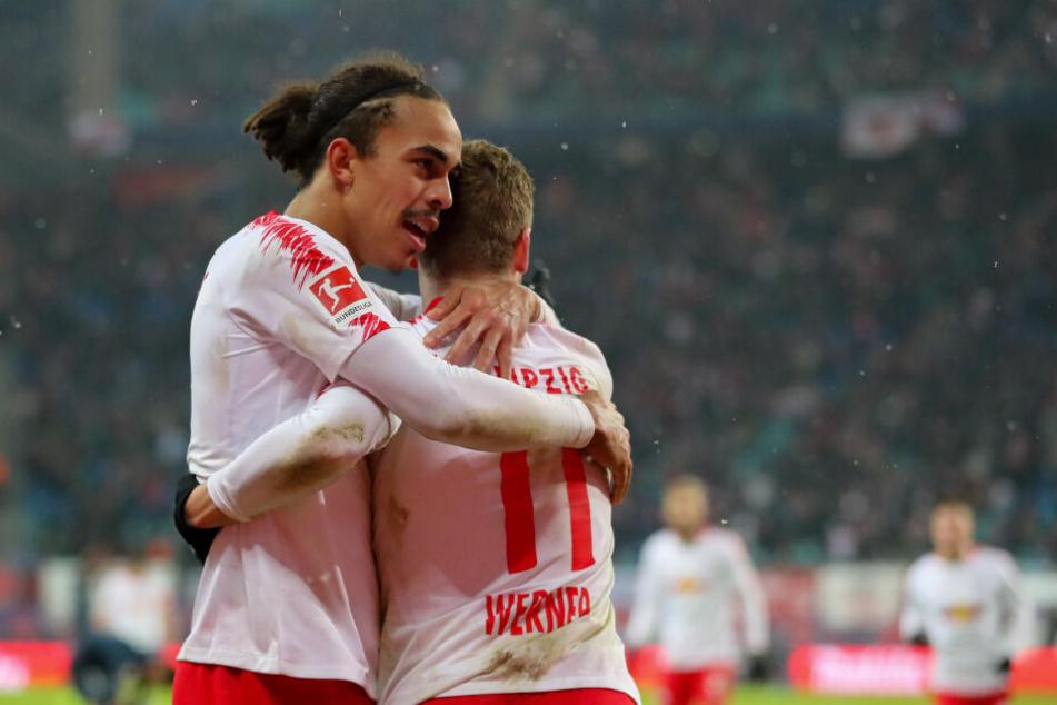 Für sie läuft es derzeit richtig gut: RB Leipzig schwimmt aktuell auf einer Erfolgswelle.