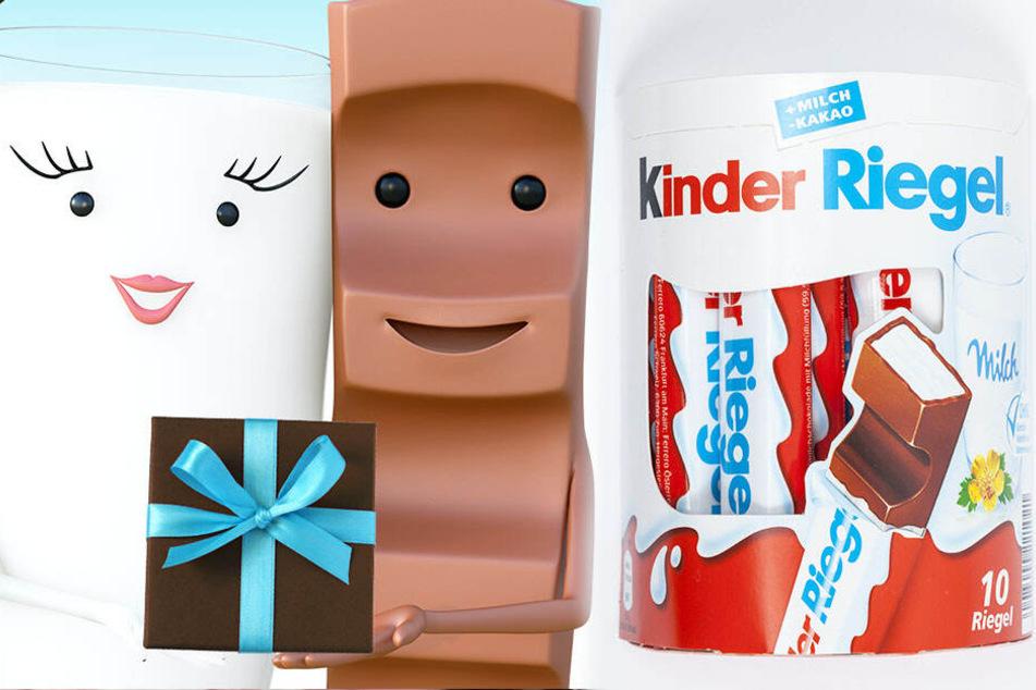 Seit 1981 wird Kinder Riegel in Deutschland verkauft.