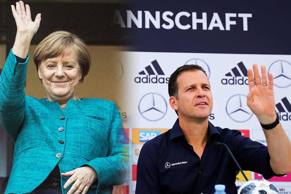 Mutti kommt zu Besuch! Merkel fährt zur DFB-Elf nach Tirol