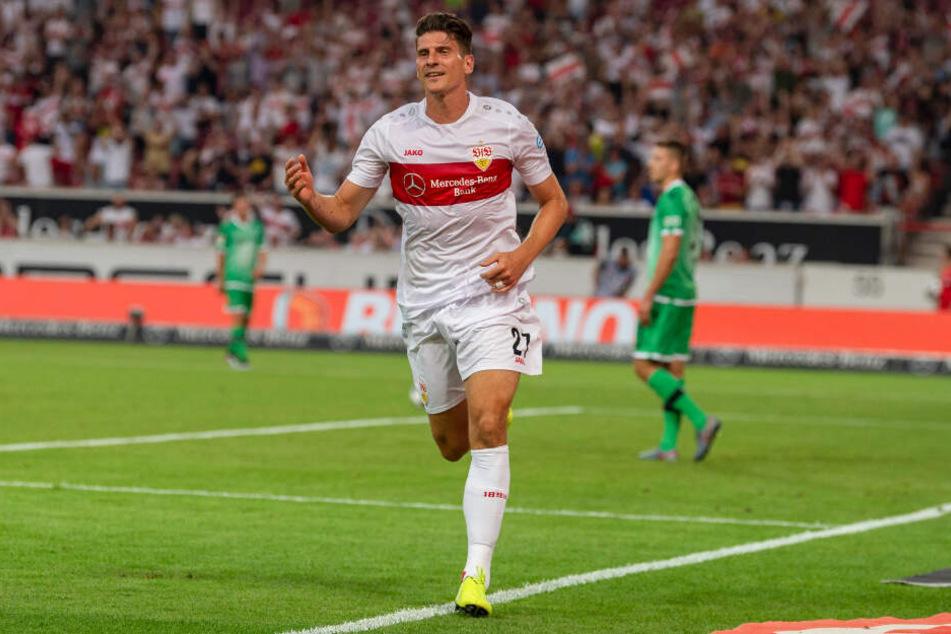 Für den DFB-Pokal soll er bereit sein: Mario Gomez.