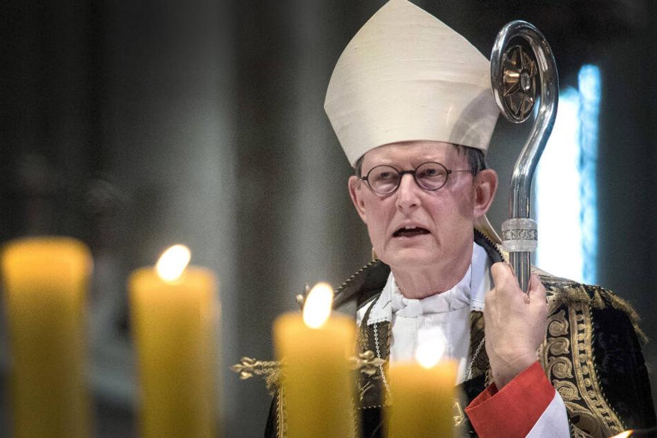 Der Kölner Kardinal Rainer Maria Woelki sprach in seiner Weihnaachtspredigt über Digitalisierung und Menschlichkeit (Archivbild).