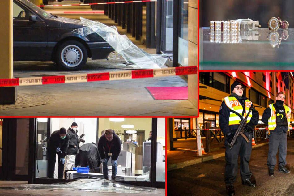 Blitzeinbruch in Berliner Juwelier: Augenzeugen berichten vom dramatischen Augenblick