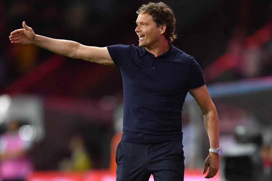 Vertrat den Bundestrainer Joachim Löw beim EM-Qualifikationsspiel in Weißrussland: Marcus Sorg