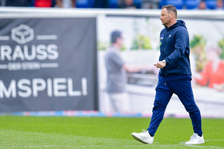 Pal Dardai nach dem Spiel in Hoffenheim.