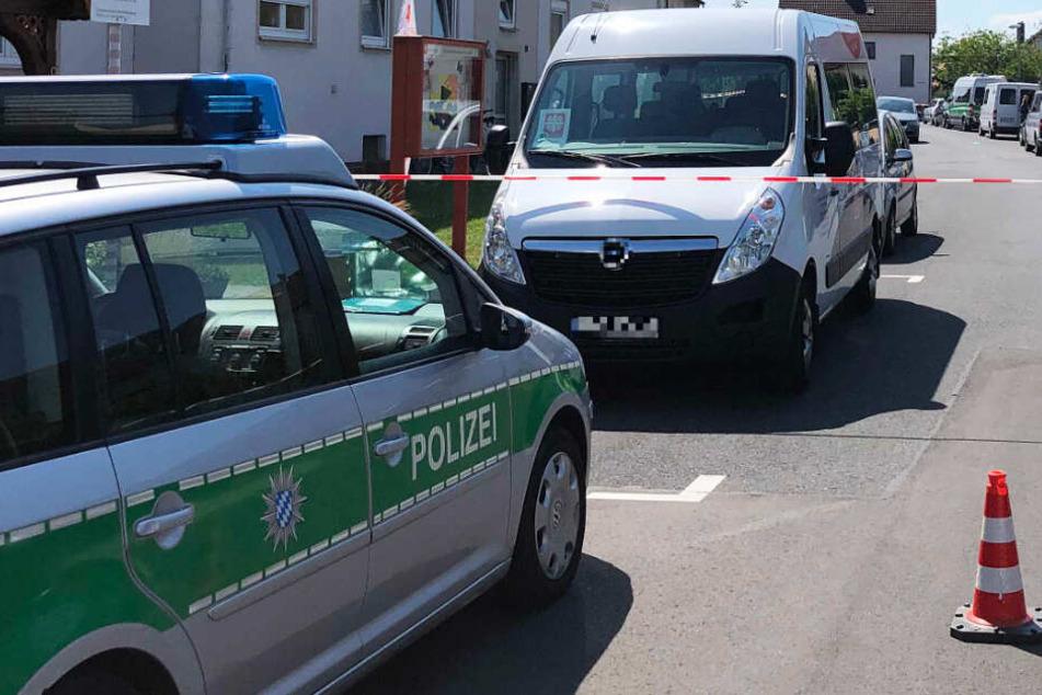 Die Polizei in Unterfranken leitete eine Großfahndung ein.