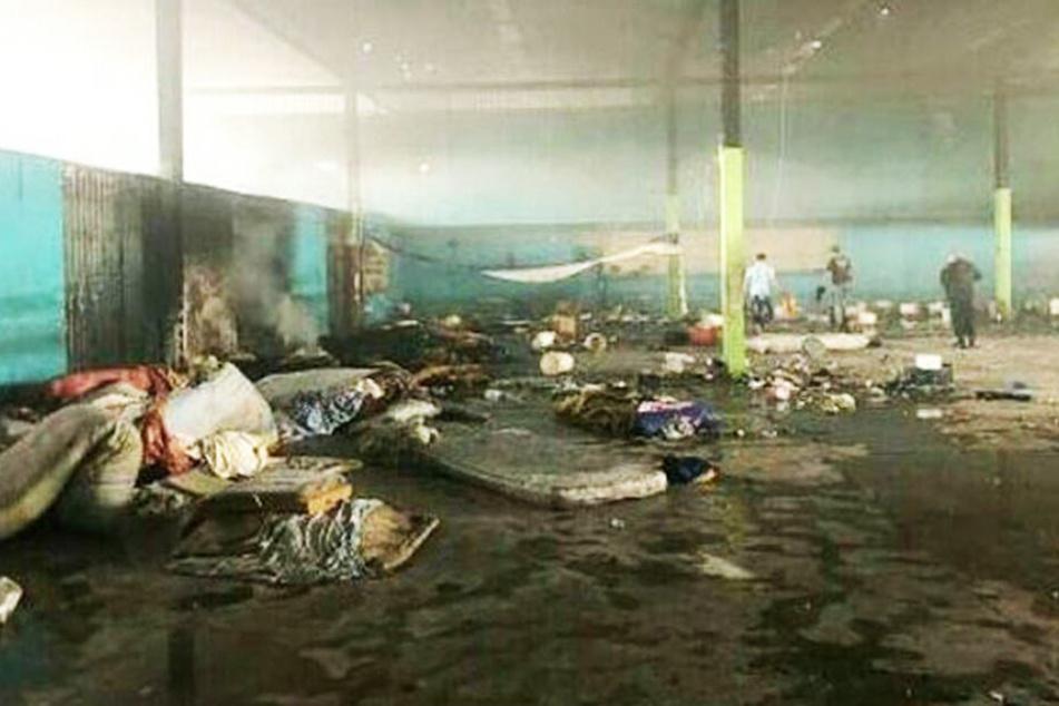 Häftlinge liefern sich heftige Kämpfe mit der Polizei: 23 Tote