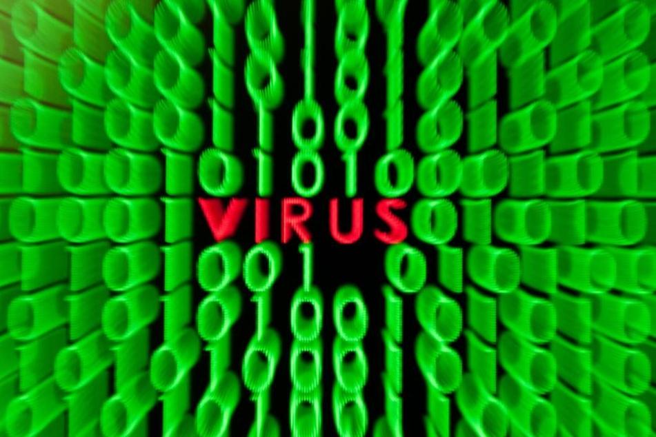 Die Zentralstelle Cybercrime ermitteln wegen eines Computerviruses. (Symbolbild)