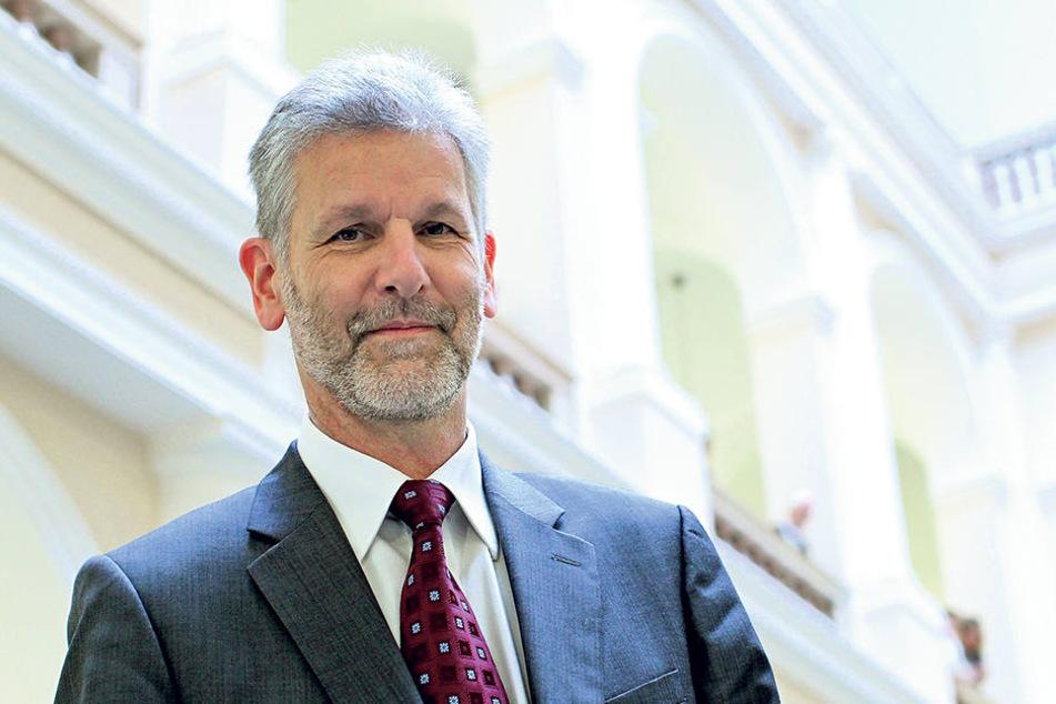 Landgerichtspräsident Gilbert Häfner (62) hat lange für eine weitere  Strafkammer gekämpft.