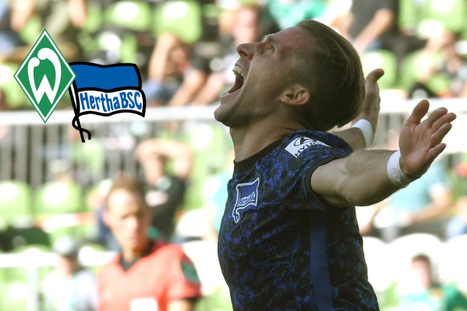 Pekarik ebnet Hertha BSC den Sieg: Alte Dame knackt endlich den Werder-Fluch
