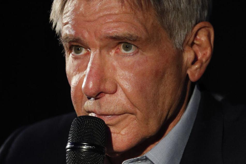 Harrison Ford (77) hofft, dass die Menschheit an einem Strang zieht. (Archivbild)