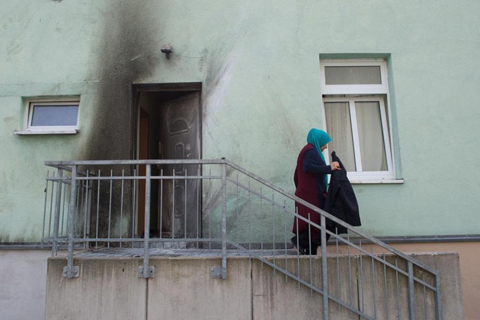Im September 2016 explodierte ein Sprengsatz an einer Moschee in Dresden-Cotta