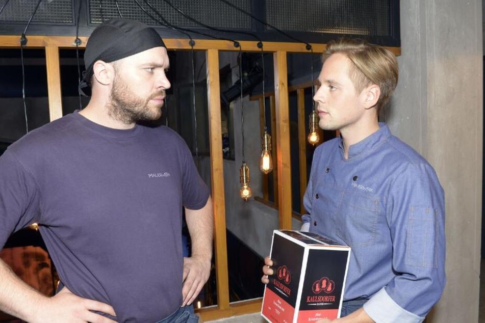 Erik (l.) muss feststellen, wie sehr er sich in Lars getäuscht hat.