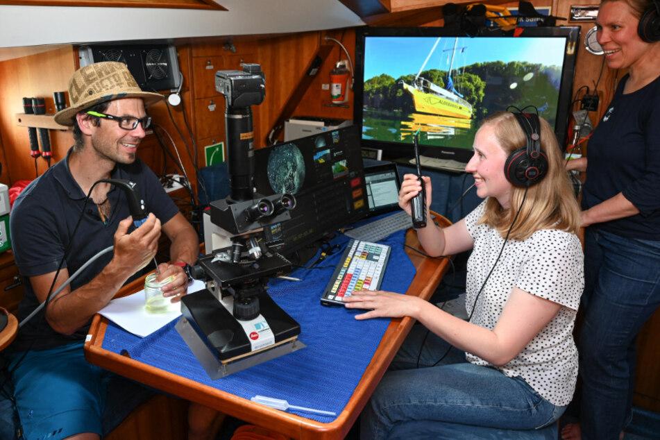 Forschungsschiff auf Bodensee unterwegs: Schüler sind online live dabei