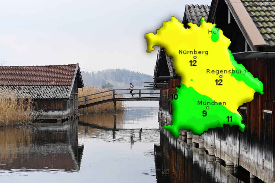 Ungemütlicher Wochenstart: So wird das Wetter in Bayern