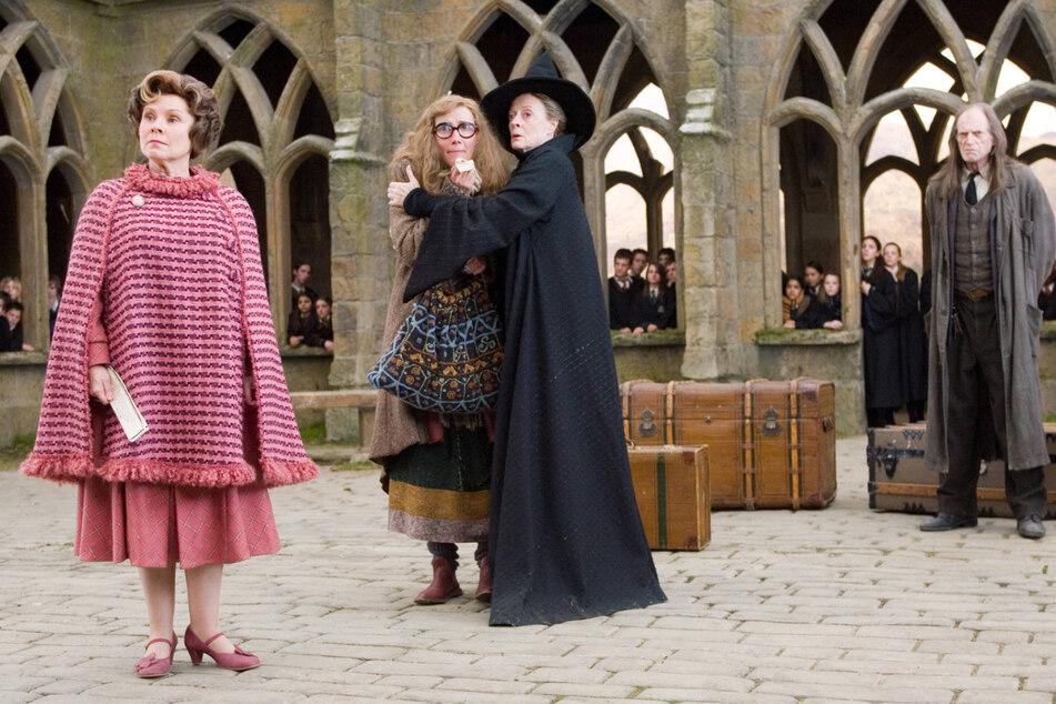 """In den """"Harry Potter""""-Filmen verkörperte die Engländerin eine böse Hexe und war von Schülern und Lehrern gefürchtet."""