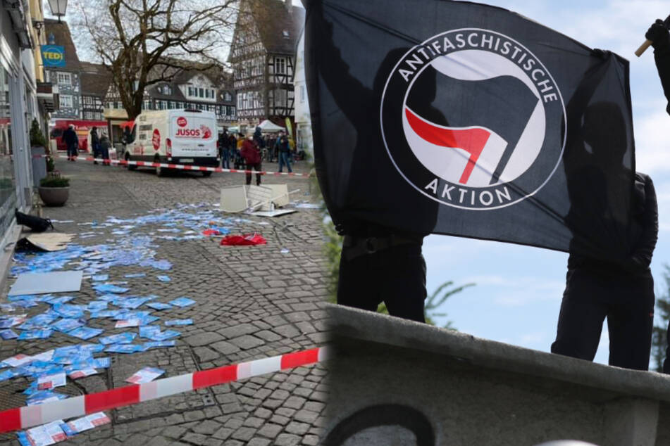 AfD-Politiker niedergeschlagen: Angriff auf Wahlstand war Teil einer Antifa-Kampagne