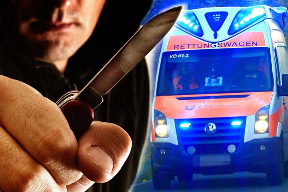 Mehrere Schnittverletzungen: Mann bei Messerstecherei schwer verletzt