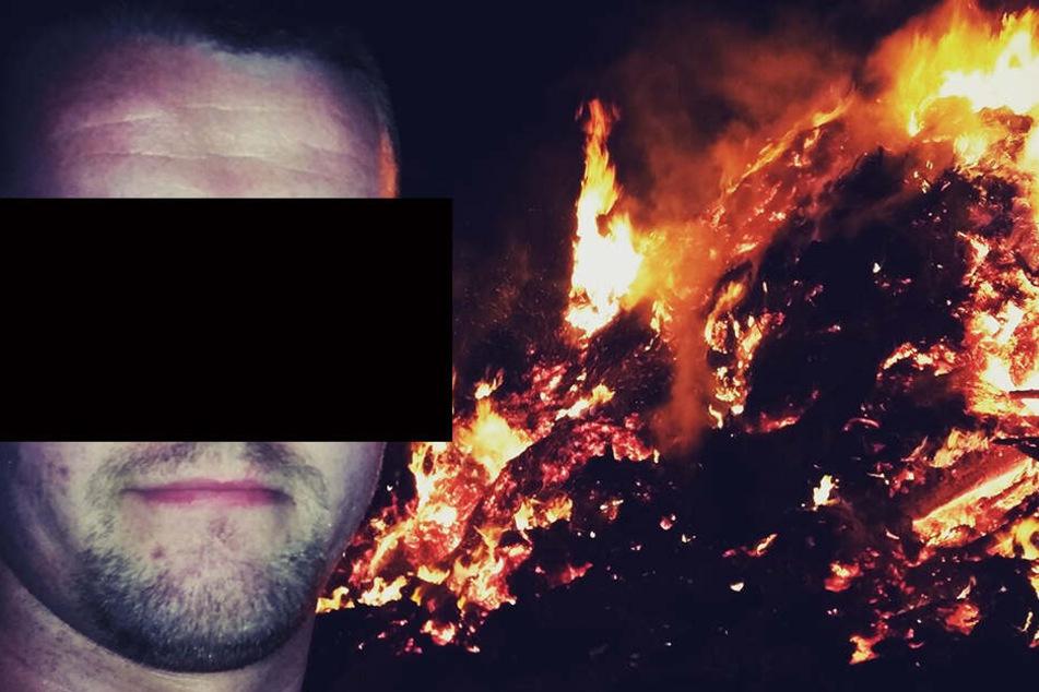 Serien-Brandstifter Mike G. (27) sitzt seit dem gestrigen Mittwoch wegen Mordes in Untersuchungshaft.