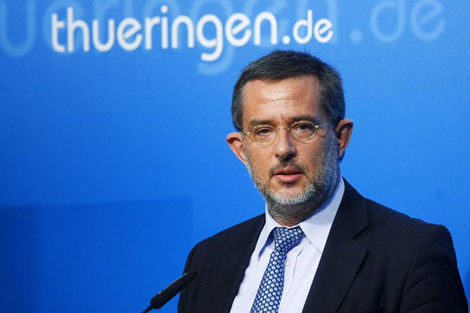 Verfassungsschutzpräsident Stephan Kramer