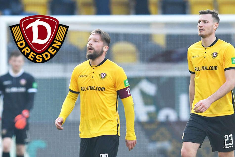Dynamo Dresden kann einfach nicht mehr gewinnen! Schwaches 0:0 gegen Regensburg