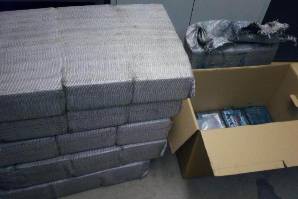 Kokain statt Kaffee: Drogen im Wert von 30 Millionen Euro gefunden!