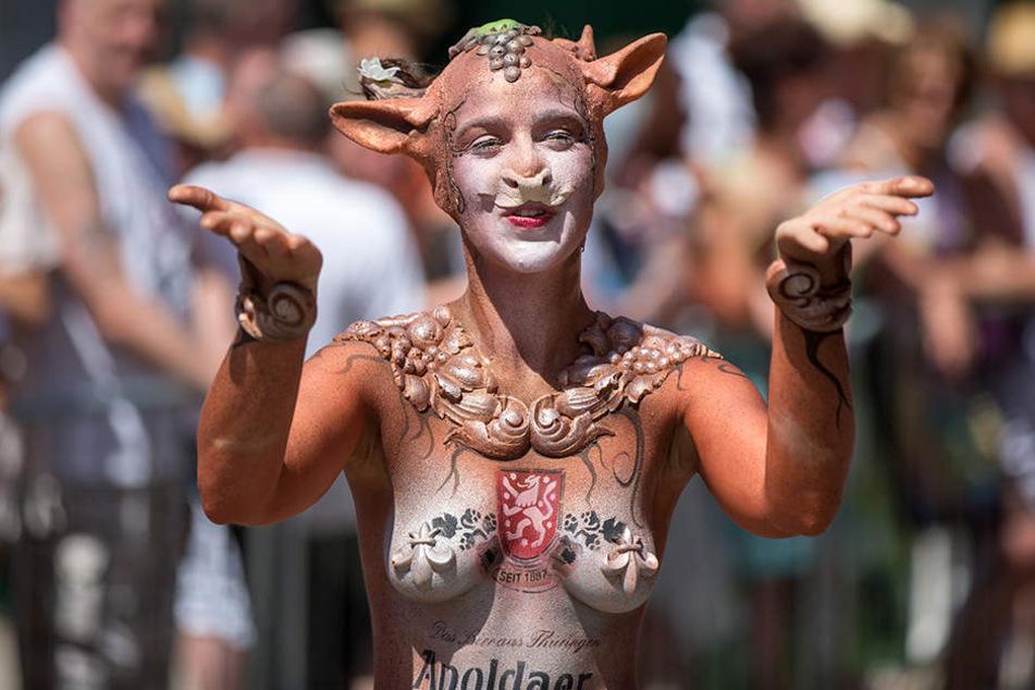 130.000 Menschen sind seit Freitag zu dem Volksfest nach Apolda geströmt.