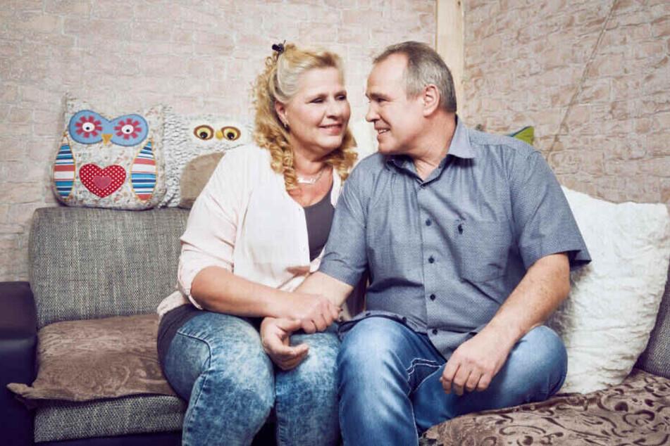 Seit mehr als fünf Jahren sind Silvia und Harald ein glückliches Paar, auch wenn sie schwere Zeiten meistern mussten und müssen.
