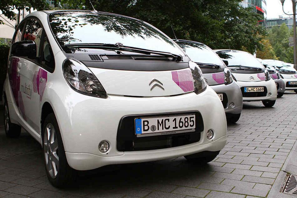 """Citroën und die Deutscher Bahn starten im September 2012 ihr gemeinsames Carsharing-Projekt """"Citroen multicity"""". Nach fünf Jahren ist nun damit Schluss und die Citroën C-Zero bleiben in der Garage."""
