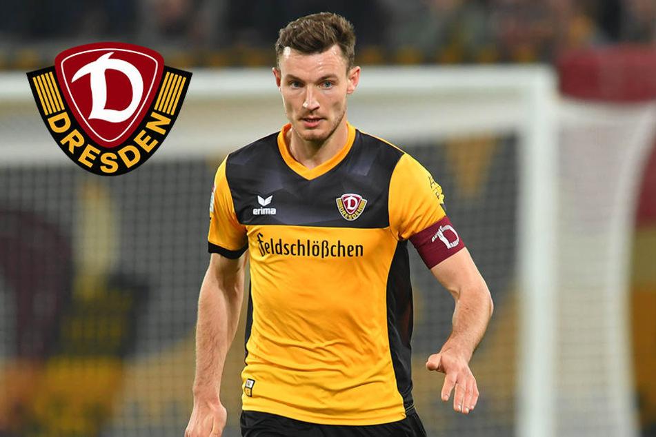 Neuer Vertrag: Florian Ballas verlängert bei Dynamo