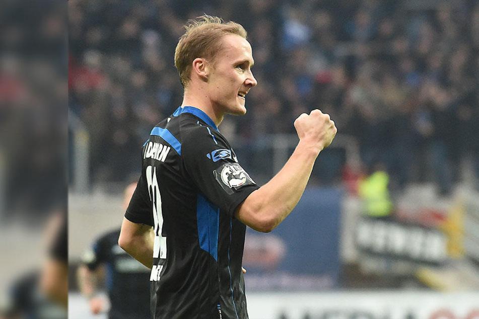 Gegen den VfL Osnabrück (3:1) erzielte Sven Michel sein letztes Tor.