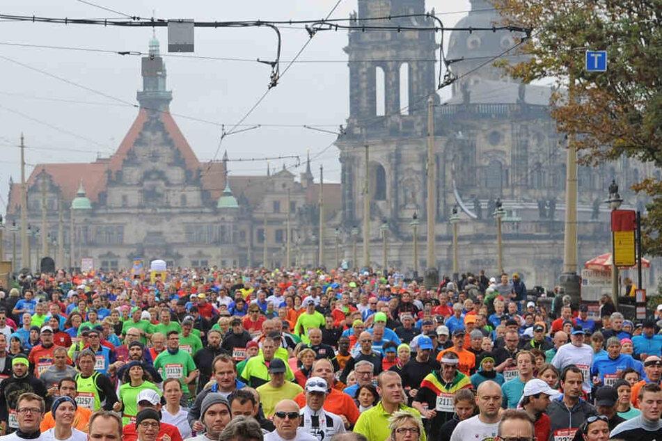 Sportveranstaltung in Dresden. (Archivbild).