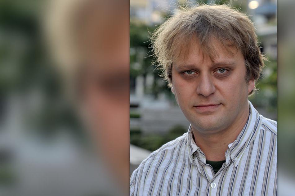 """Holm Krieger (42) spielt auch in der Band """"Solche"""". Er macht sich Sorgen um die Kulturszene."""