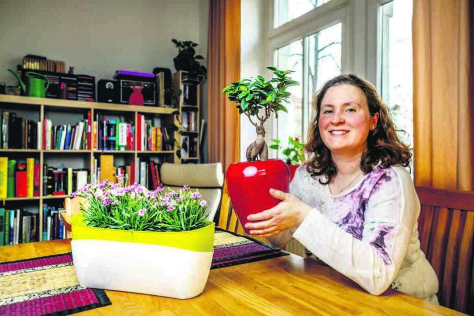 Es grünt so grün mit Gründerin Adelheid Wolter (35).
