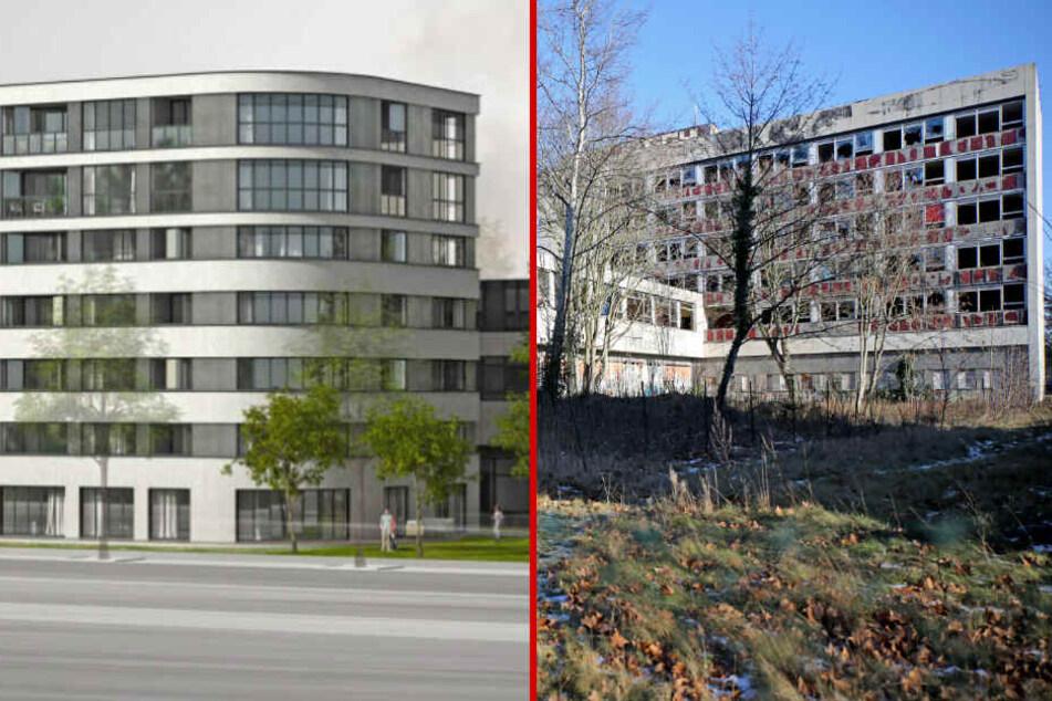 """Sanierung nach 24 Jahren Leerstand: So wird das """"Gästehaus am Park"""" in Leipzig aussehen!"""