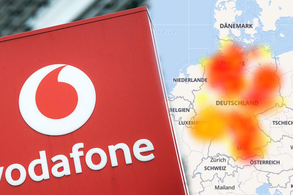 Vodafone: Mega-Störung, Kunden deutschlandweit betroffen