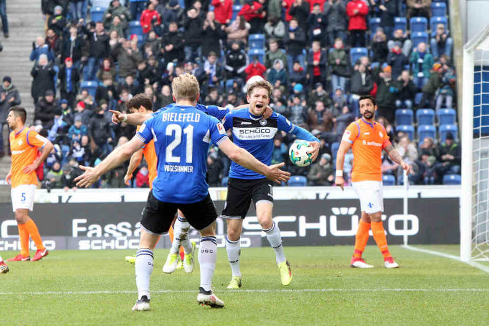 Gegen Darmstadt machte Weihrauch bereits sein drittes Saisontor.