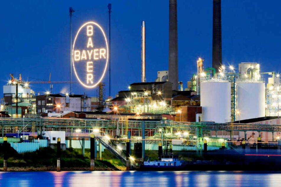Das Bayer-Werk in Leverkusen (Symbolbild).